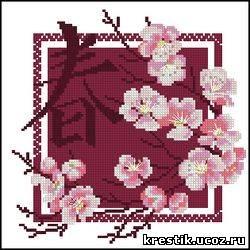 Бесплатные схемы японских вышивок