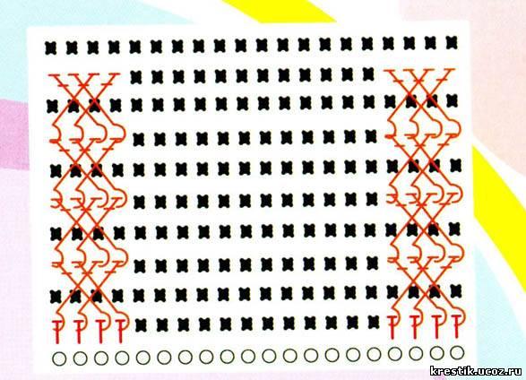 Схема вязания детской жилетки